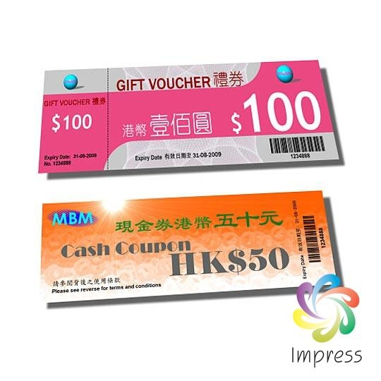 Low Cost Custom Coupon Printing Service Company
