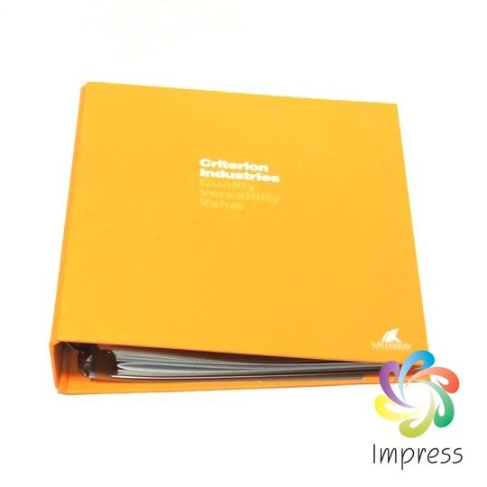 Professional Clip Folder Printing Service-Customized Colors and Sizes