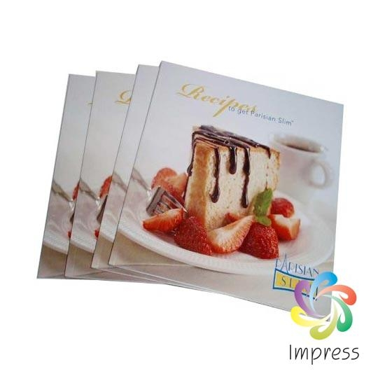 Full Color Softcover Recipe Book Printing China Company-Impress
