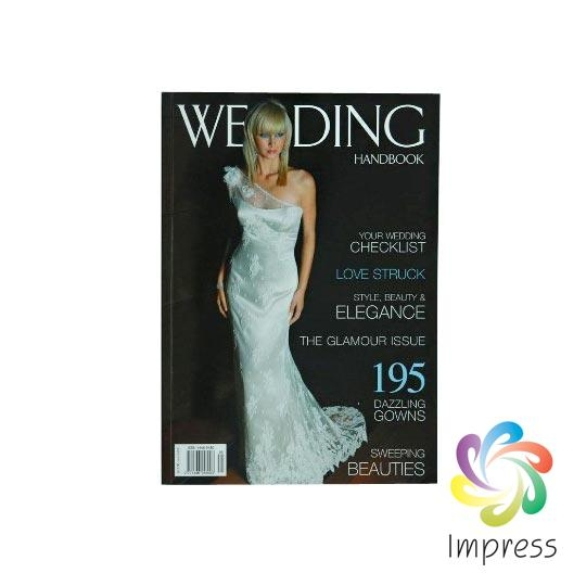 Short Run Wedding Magazine Printing and Binding Service-Design Service Available